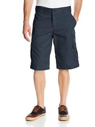 Dickies Mens 13 Inch Relaxed Fit Stretch Twill Cargo Short, Dark Navy, 34