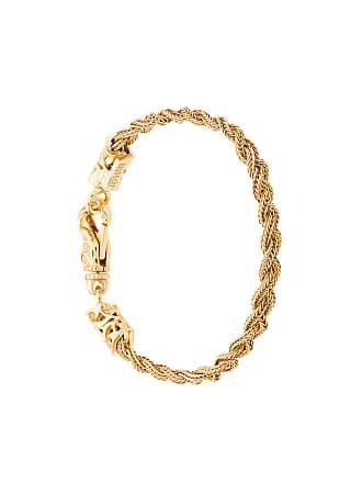 Emanuele Bicocchi Bracelete trançado de ouro - Metálico