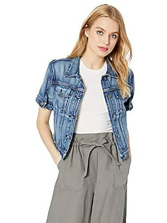 Hudson Womens Ruby Contour Jean Jacket, Hide Away, SM