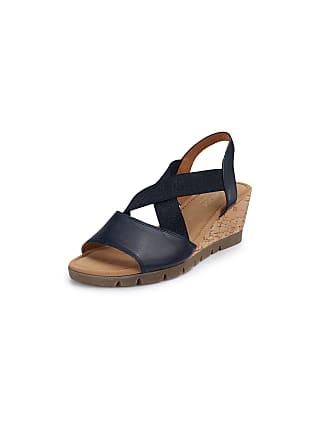 7023514bd38 Gabor Platform wedge sandals Gabor Comfort blue