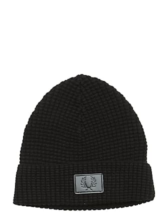 544e1fe48b10d4 Fred Perry Waffle Knit Beanie Accessories Hats & Caps Beanies Svart FRED  PERRY