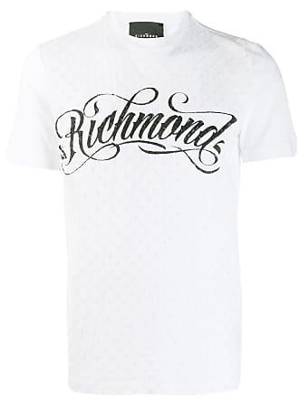 John Richmond Camiseta com estampa de logo - Branco