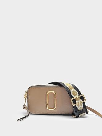 ce3e3c6a1147 Marc Jacobs Handtasche Snapshot aus Kalbsleder mit Polyurethan Beschichtung  Grau und Bunt