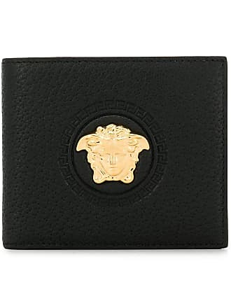 Versace medusa head bifold wallet - Black