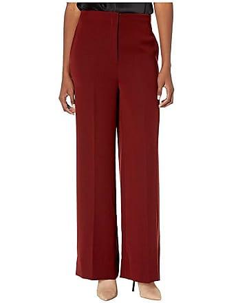 Yigal AzrouËl High-Waisted Wide Leg Pants (Rust) Womens Casual Pants