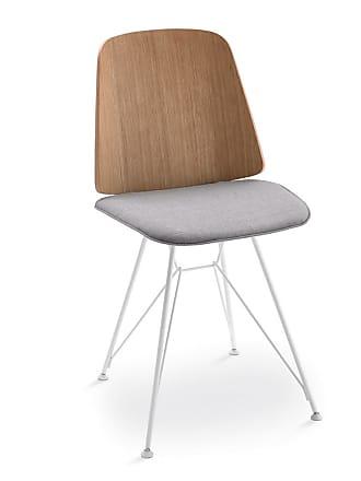 ZANOTTA Design June 2056 Dining Chair Oak & Fabric Seat