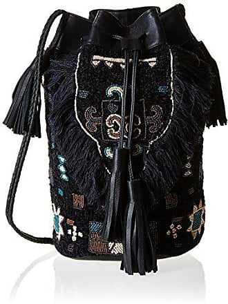 c0afc156e3 Antik Batik Cody 1B, Sac porté épaule - Noir (Black), Taille Unique