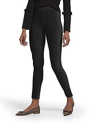 Hue Womens Corduroy Leggings, Assorted, High Waist - Black, L