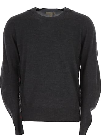 ee241a6b626 Burberry Sweater for Men Jumper On Sale, Anthracite Grey, Wool, 2017, L