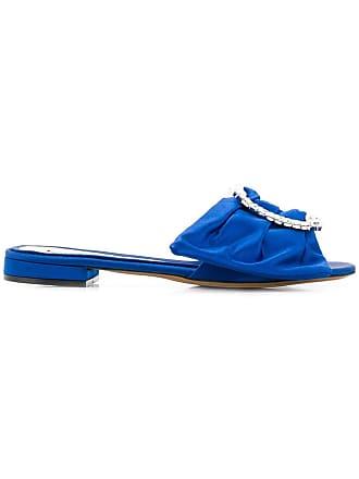 Alexandre Vauthier Sandália flat lola - Azul