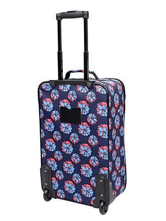 Skyline Furniture 3Piece Rolling Luggage Set - Blue Floral