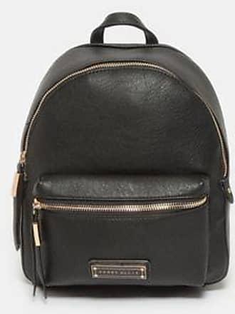 Perry Ellis Backpack con Logo Sobre Bolsillo<br>25 x 28 x 10 cm<br>Negro