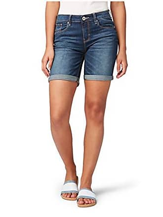 4353401cd75f30 Tom Tailor für Frauen Jeanshosen Alexa Bermuda Shorts Dark Stone wash Denim,  31