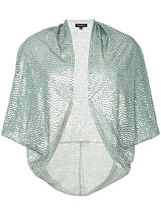 Jenny Packham embroidered sequin bolero - Metallic