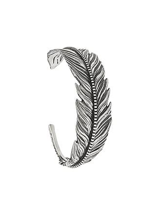 Nove25 Bracelete de pena - Prateado