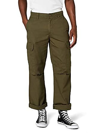 Dickies New York, Pantalon de Sport Homme, Vert (Dark Olive), Unique 8efc0f612b57