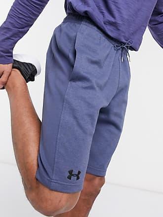 Under Armour Training - Doppelt gestrickte Shorts in Blau