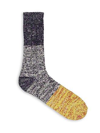 Thunders Love CHARLIE COLLECTION Blackberry & Sunshine Yellow Socks