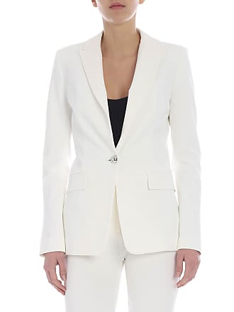 Pinko Signum 6 jacket in white milan point fabric