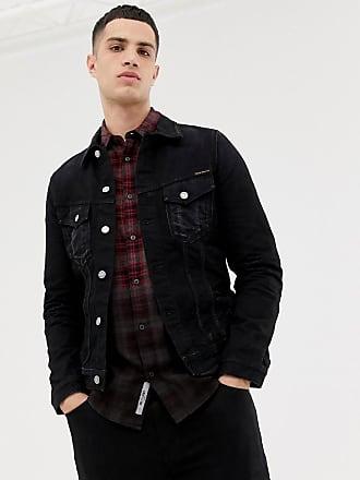 822a1ea37e Nudie Jeans Co Billy denim jacket washed black - Black