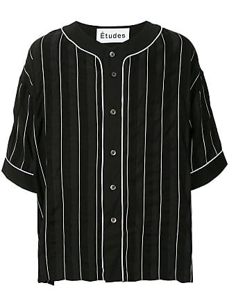 Études Studio Harlem striped shirt - Black