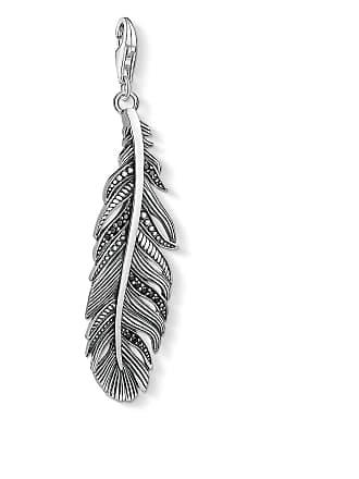 Thomas Sabo Thomas Sabo Charm pendant feather black Y0022-643-11