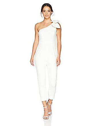 2a9fe17d65a Adrianna Papell Womens One Shoulder Jumpsuit Petite