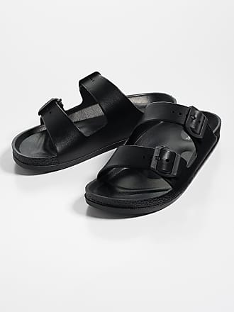 Maurices Abigail Two Strap Plastic Footbed Sandal