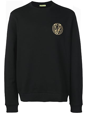 0ff07f6058 Versace Jeans Couture embroidered logo sweatshirt - Black