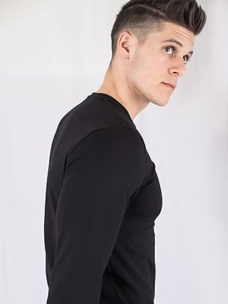 Perform Collection Muscle Long Sleeved T-shirt - Black