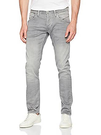 023b90413f092 Pepe Jeans London Track PM201100, Jean Droit Homme, Denim (Grey Used),