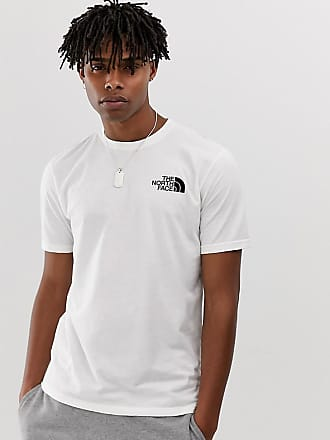 The North Face Simple Dome t-shirt in white Exclusive at ASOS - White