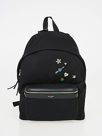 e2b697b440a Saint Laurent Fabric Backpack with Applications size Unica