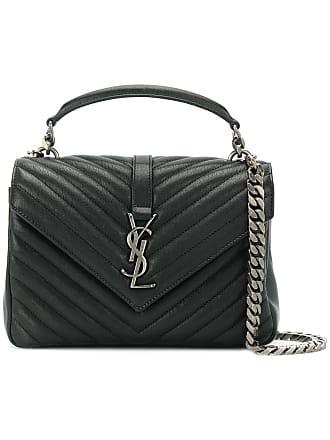 f5b2dd5bd5a5 Saint Laurent Black College Medium Leather shoulder bag