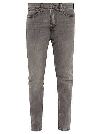 Polo Ralph Lauren Sullivan Distressed Slim Leg Jeans - Mens - Grey