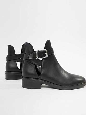 Raid Luisa - Schwarze Ankle-Boots mit Metallkappe - Schwarz c3f8d87060