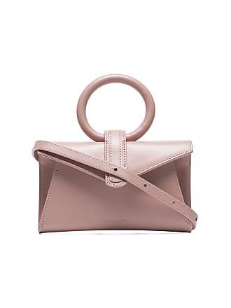 Complet pink Valery micro leather belt bag
