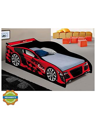 J & A Cama Carro Speedy Vermelha J & A