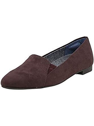 9a1ba9a64ac Dr. Scholls Womens Anyways Loafer Merlot Linear Microfiber 11 M US