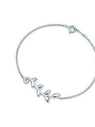3cf5ae543 Tiffany & Co. Paloma Picasso Olive Leaf vine bracelet in sterling silver,  medium