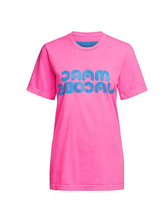 Marc Jacobs Logo Tee Pink