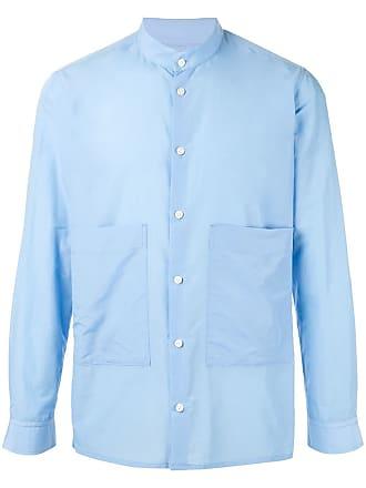Loveless Camisa com bolsos oversized - Azul