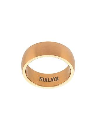Nialaya Anel com textura - Amarelo