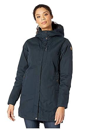 Fjällräven Kiruna Padded Parka (Dark Navy) Womens Coat