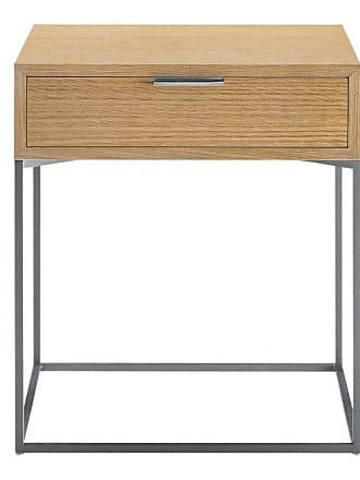 ZANOTTA Design Oscar Bedside Table Natural Lacquered Oak