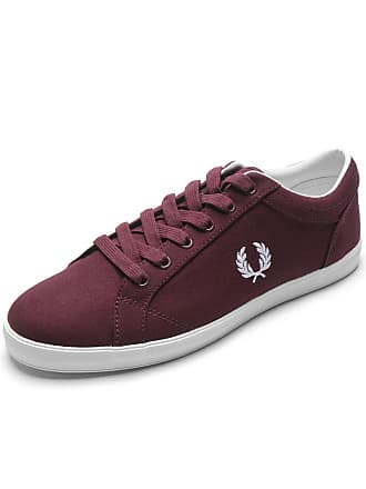 Fred Perry Sapatênis Fred Perry Logo Vinho