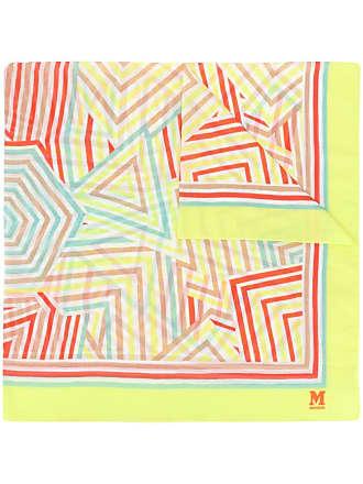 M Missoni Lenço com estampa geométrica - Amarelo