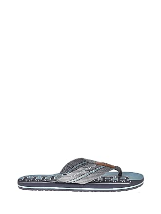 de7376e6 Tommy Hilfiger Sandals and Slippers for Men, Colour Grey, Brand, Model  Sandals and