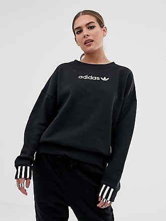 adidas Originals Coeeze - Sweat-shirt en molleton - Noir - Noir 7bc8ba1ecc8