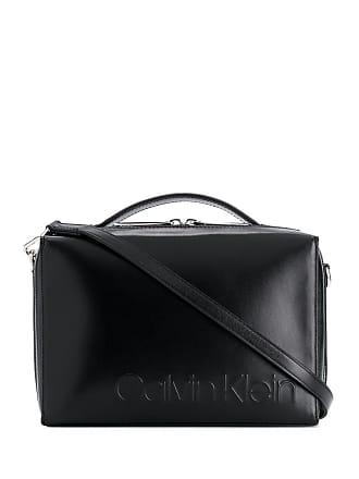 Calvin Klein Bolsa tiracolo com logo pequena - Preto